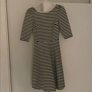 Pixley striped dress: very flattering